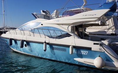 "Pre-owned, 2011 Azimut 45 Fly ""Caroline VII"""