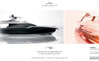 Premiere @Cannes Yachting Festival 2019: Azimut 78 Fly