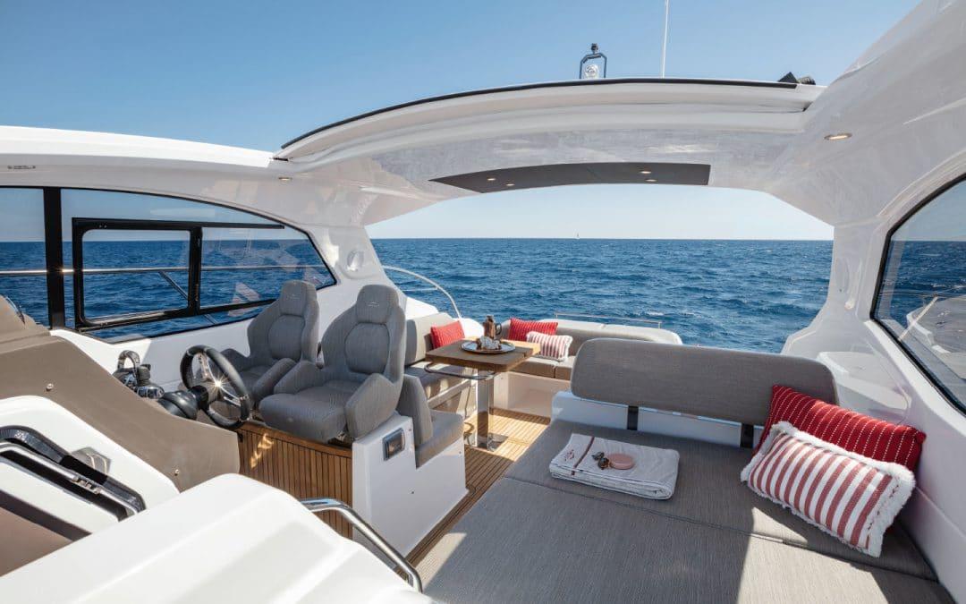 Boattest Azimut Atlantis 45.